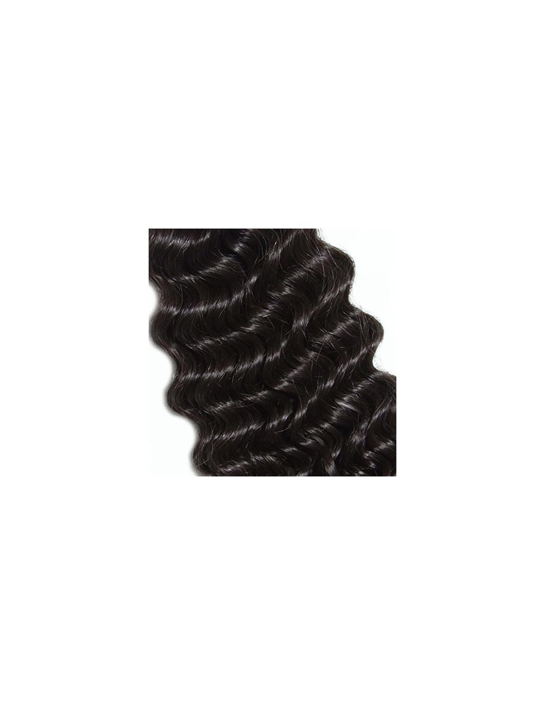 Extension rizada cabello natural en cortina - Extensiones cortina ...