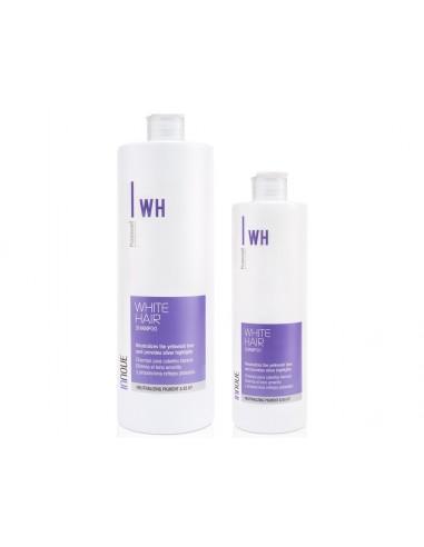 Champú para cabellos rubios WHITE HAIR