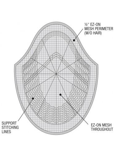 Prótesis Capilar VERSALITE (Tamaños: 19x24cm y 15x20cm)