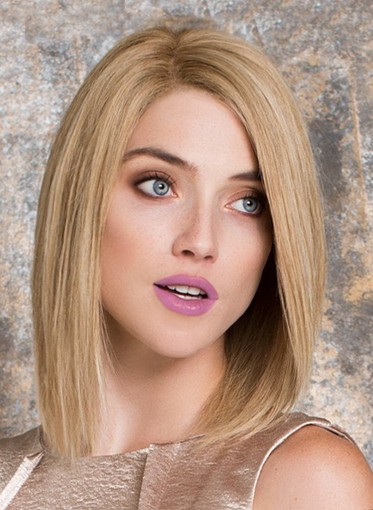 Peluca de mujer BLANCA cabello natural