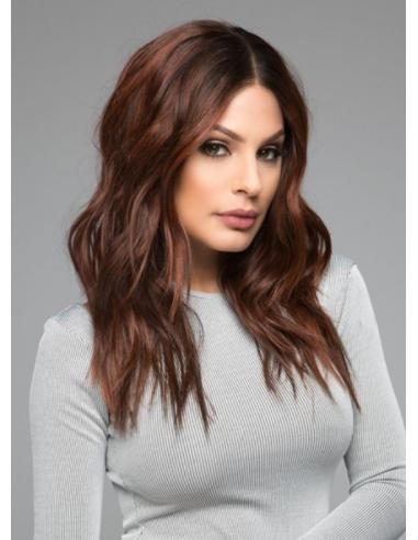 Prótesis capilar AMETHYST de cabello natural 35cm