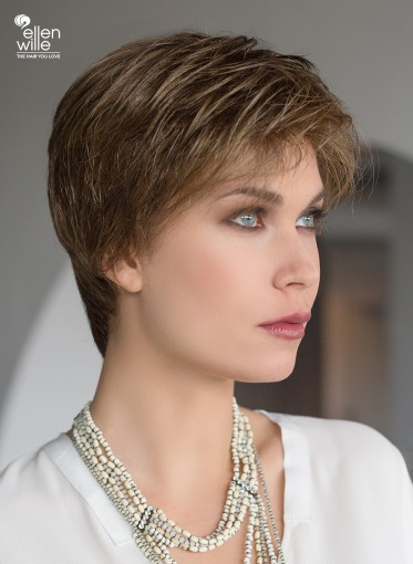Peluca indetectable Select para mujer, peluca corta, lace front