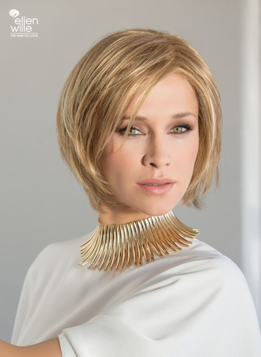 Peluca indetectable Shape para mujer, lace front, peluca sintética