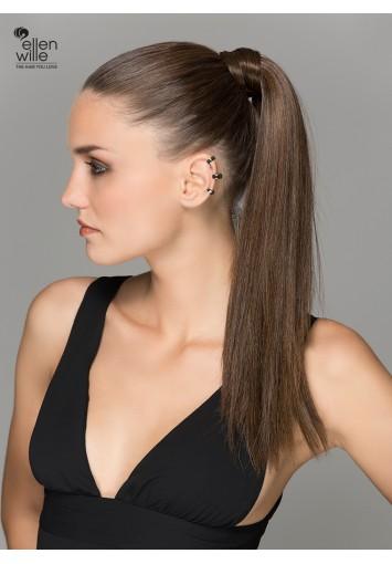 Coleta Postiza AQUA con mechón | cabello sintético moldeable