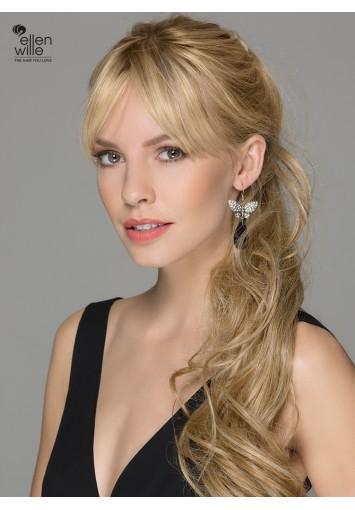 Coleta Postiza CHAMPAGNE NEW con mechón | cabello sintético moldeable | Entrega en 24-48h