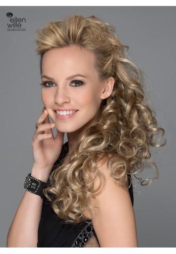 Coleta Postiza SANGRÍA de cabello sintético | Entrega en 24-48h