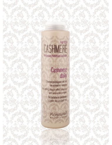Champú cabello suave, liso y radiante con Proteína Cashmere