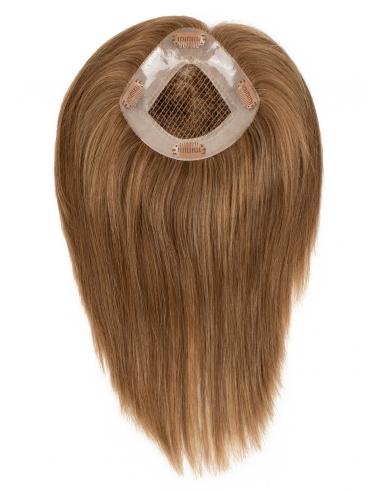 Prótesis Capilar con rejilla TOPAZ de cabello natural