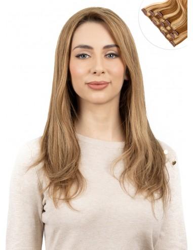Extensiones CORTINA CLIPS EUROPEAN (100 g) - cabello grueso | Entrega en 24-48h