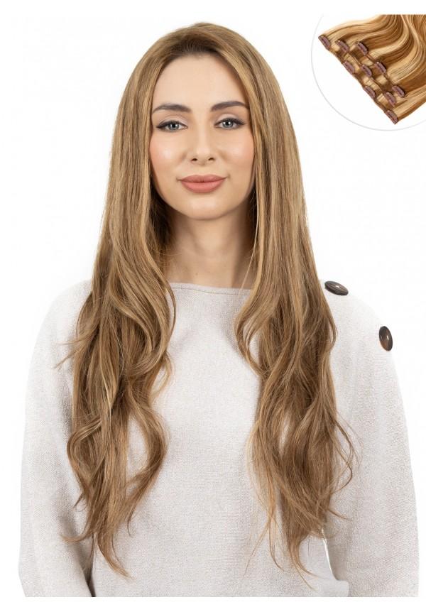 Extensiones CORTINA CLIPS FINE (50 y 100gr) - cabello medio