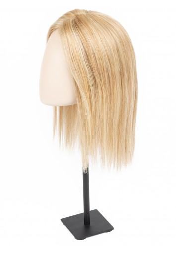 Prótesis capilar de mujer de cabello natural AMETHYST y LACE-AMETHYST