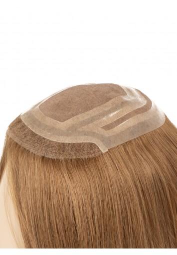 Prótesis capilar de mujer de cabello natural LACE ROSE