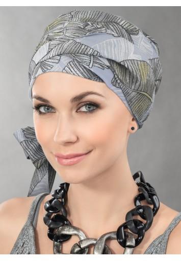 Turbante con cintas Oncológico AMA FINA | Entrega en 24-48h