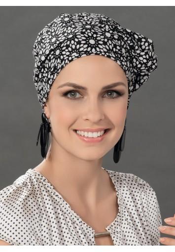 Pañuelo Oncológico PARIS con cintas | Entrega en 24-48h