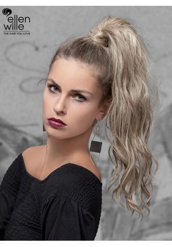 Coleta Postiza HUGO con mechón   cabello sintético moldeable
