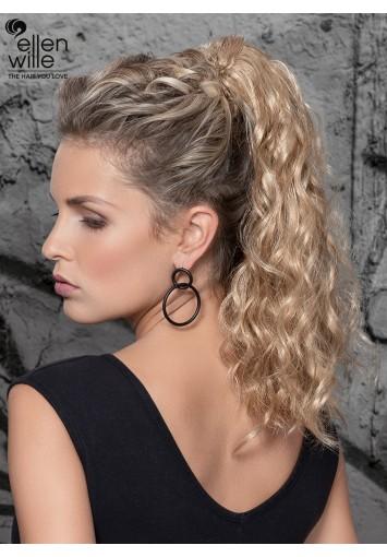 Coleta Postiza CAIPI con mechón | cabello sintético moldeable