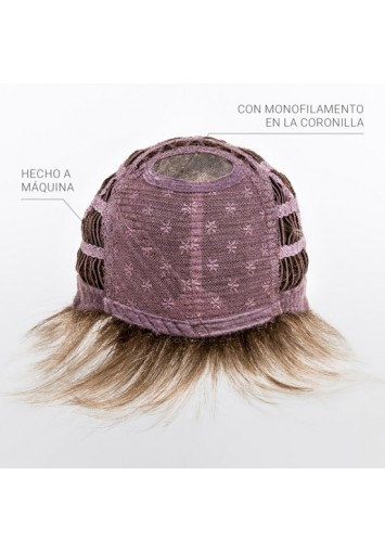 Peluca de Mujer Debbie sintético fibra alta gama