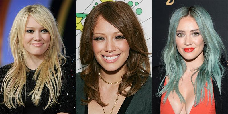 Hilary Duff cambios de look