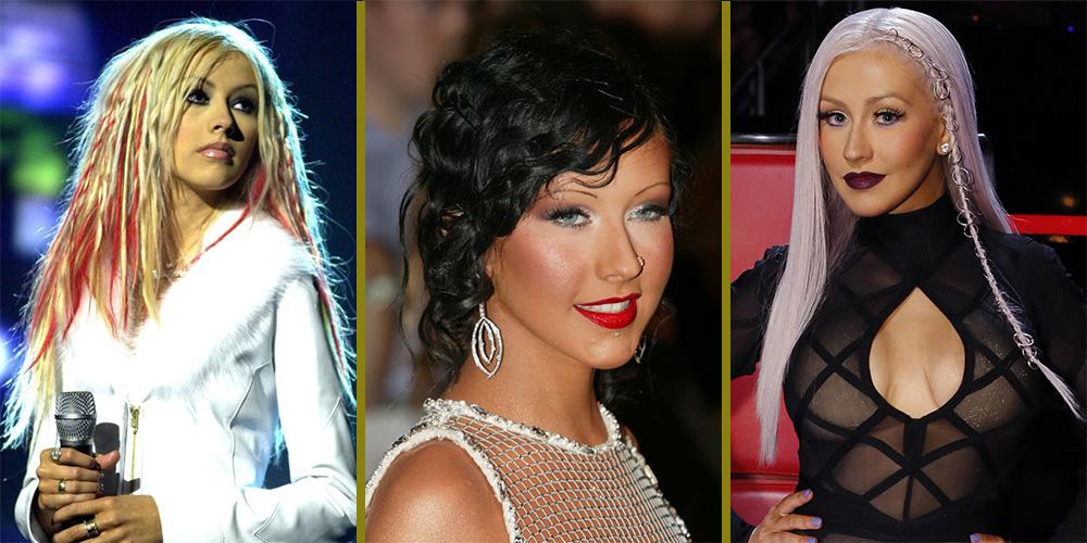 Christina Aguilera 15 looks