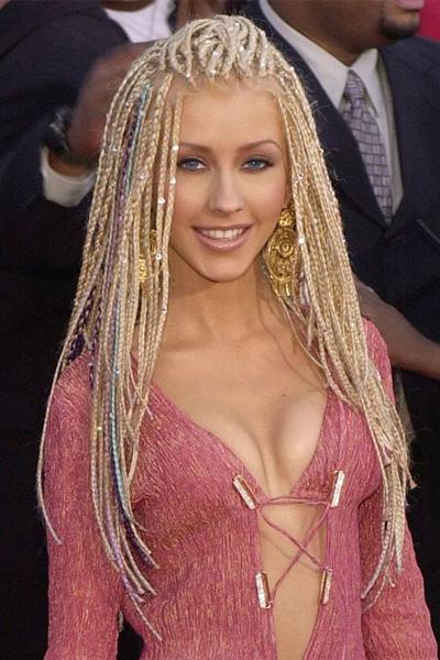 2001 Christina Aguilera en 15 looks