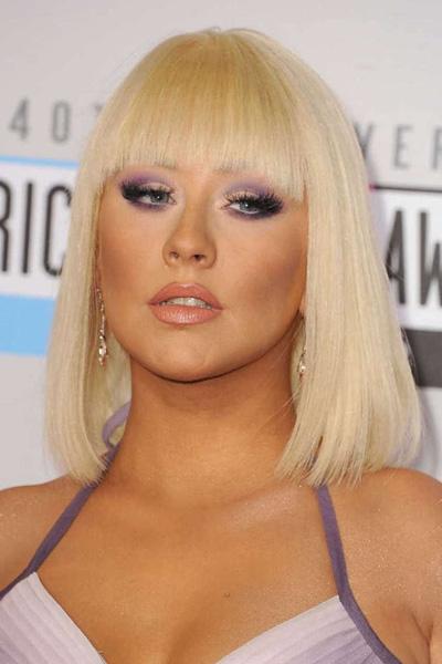 2012 Christina Aguilera en 15 looks
