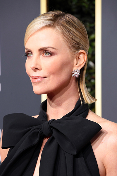 golden-globes-2019-charlize-theron Globos de Oro 2019: Los looks