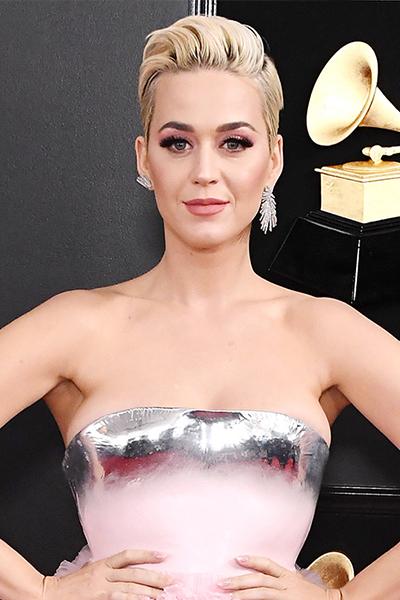 katy-perry-grammys-2019 GRAMMYs 2019: La coleta despunta como tendencia entre las celebrities